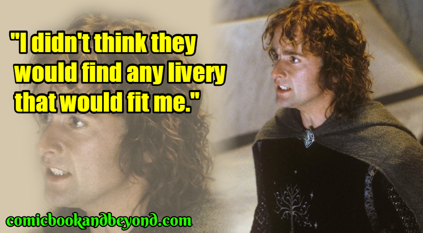 Peregrin Took popular quotes