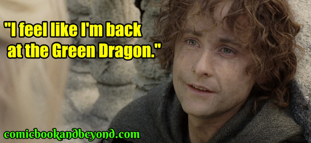 Peregrin Took saying
