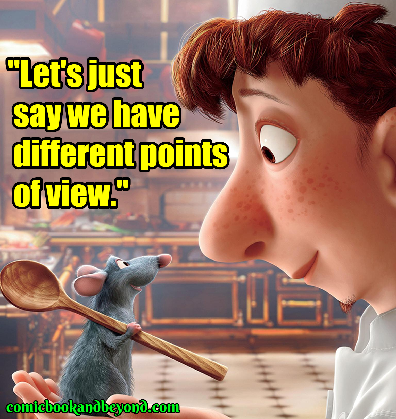 remy quotes from ratatouille movie comic books beyond