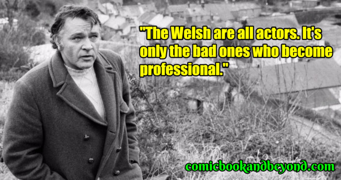Richard Burton saying