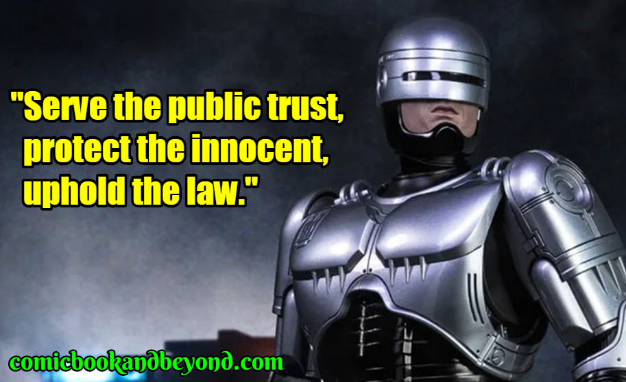 RoboCop best quotes