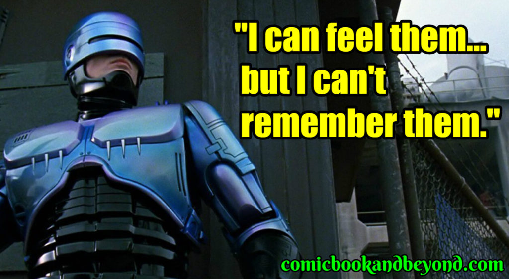 RoboCop popular quotes