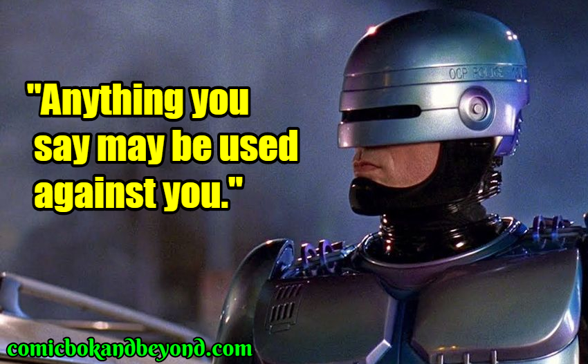 RoboCop quotes