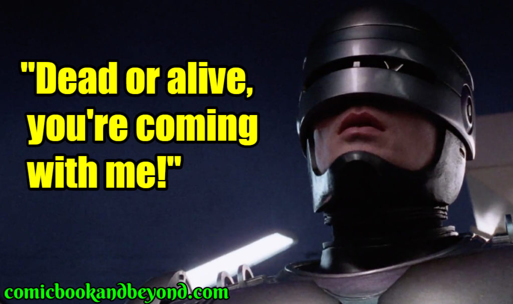 RoboCop saying
