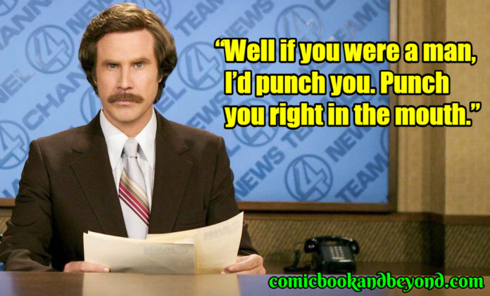 Ron Burgundy best quotes
