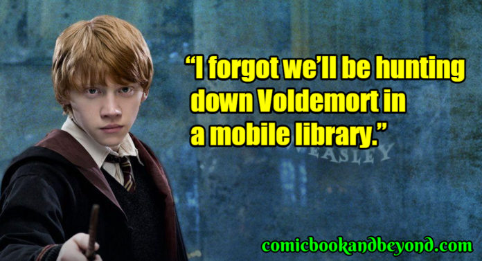 Ronald Weasley popular quotes