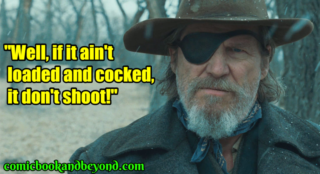 Rooster Cogburn famous quotes