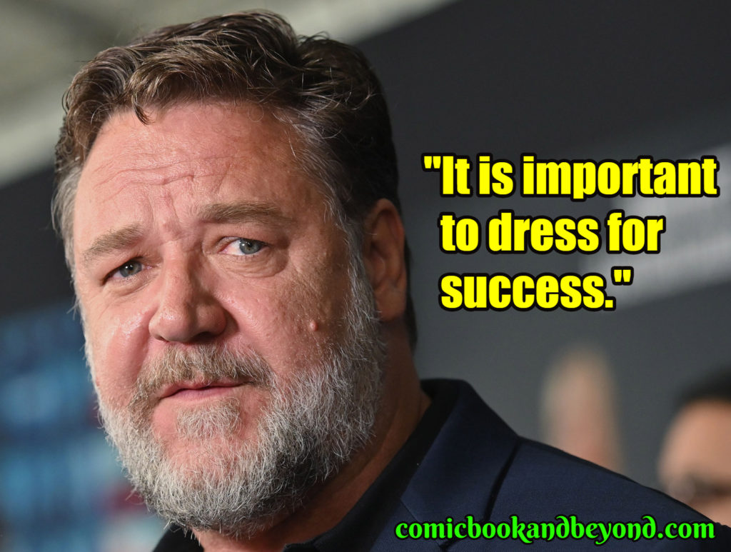 Russell Crowe best quotes