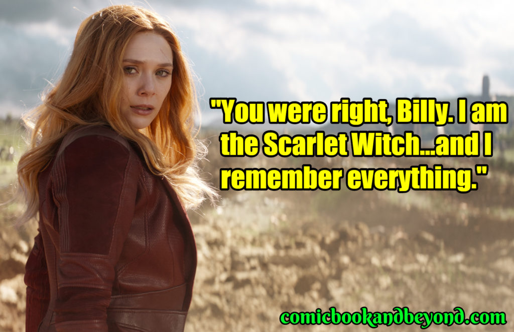 Scarlet Witch best quotes