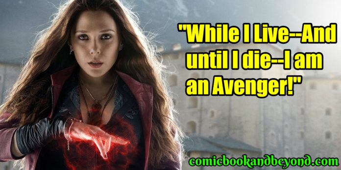 Scarlet Witch quotes