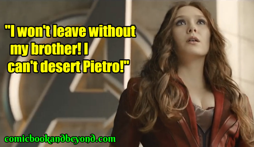 Scarlet Witch saying
