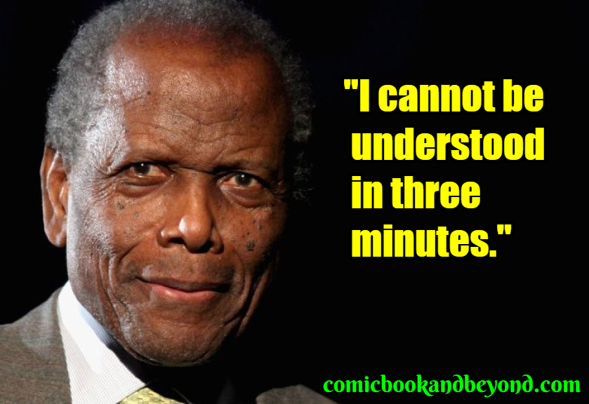Sidney Poitier famous quotes