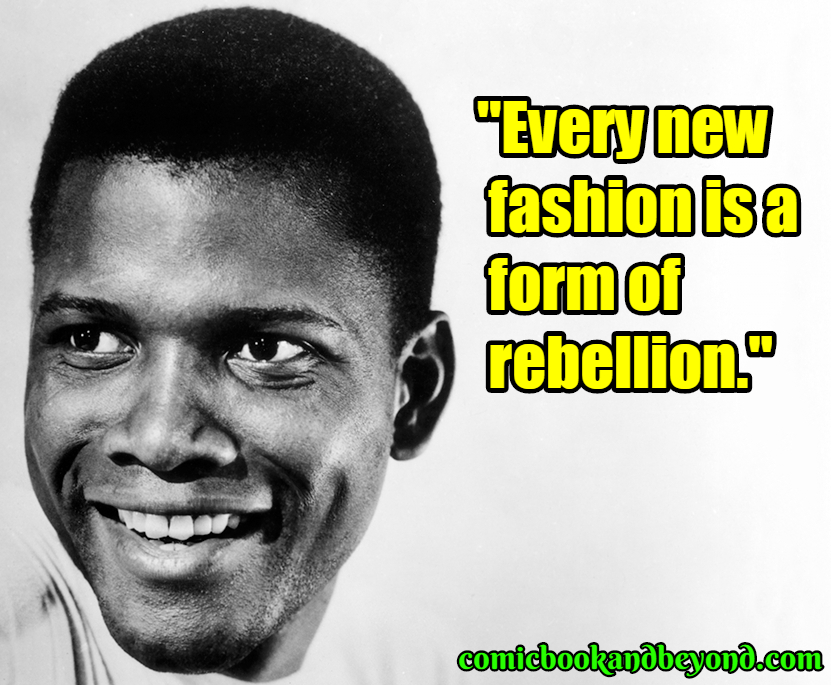 Sidney Poitier saying