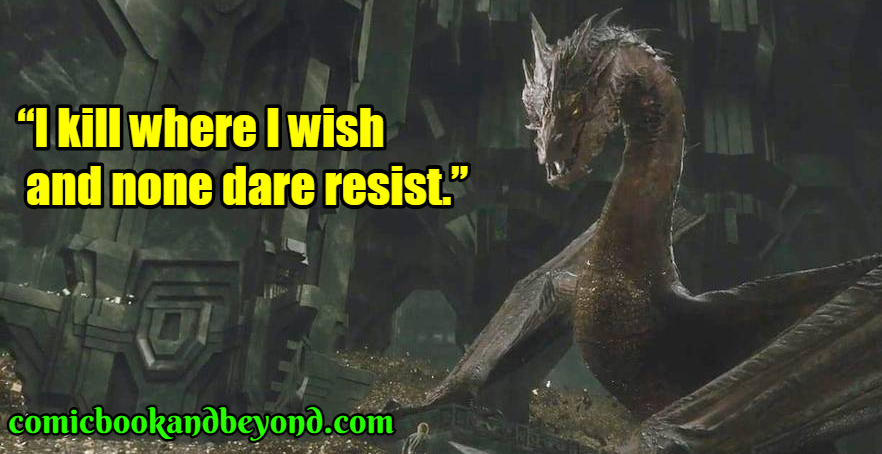 Smaug famous quotes