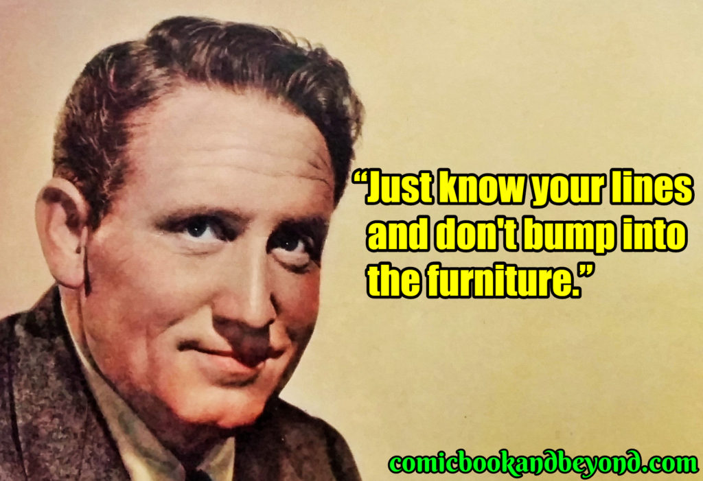 Spencer Tracy popular quotes