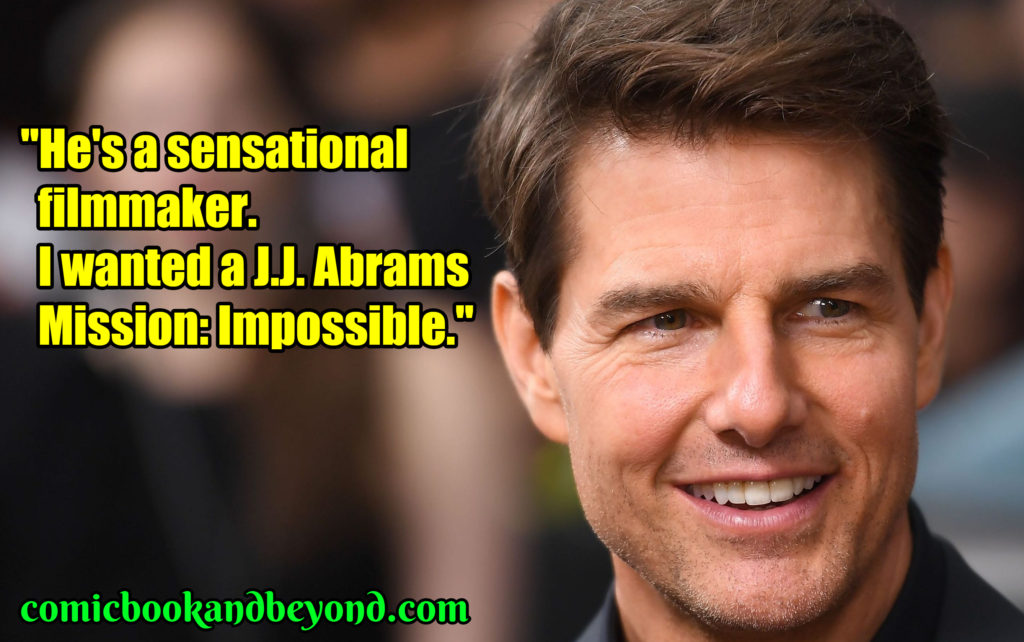 Tom Cruise quotes