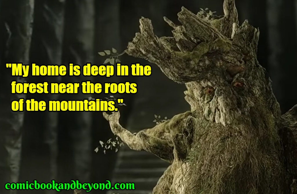 Treebeard saying