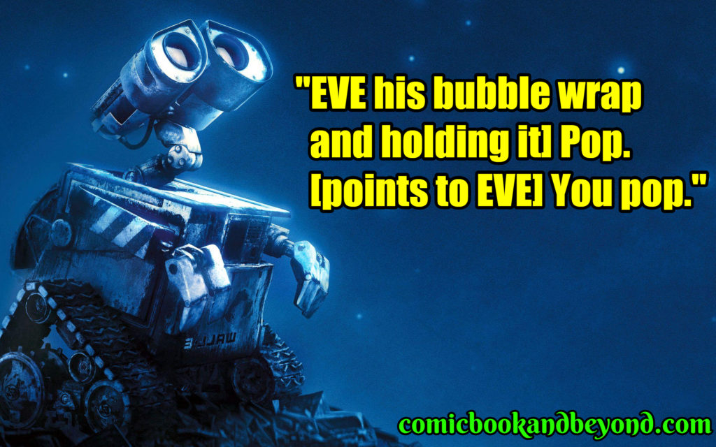 WALLE famous quotes