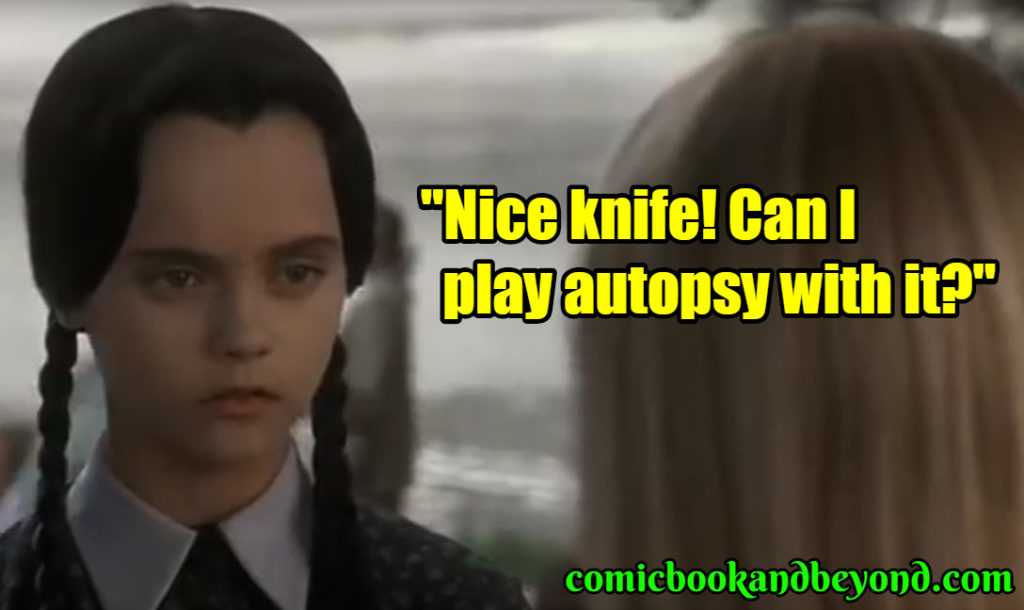 Wednesday Addams best quotes