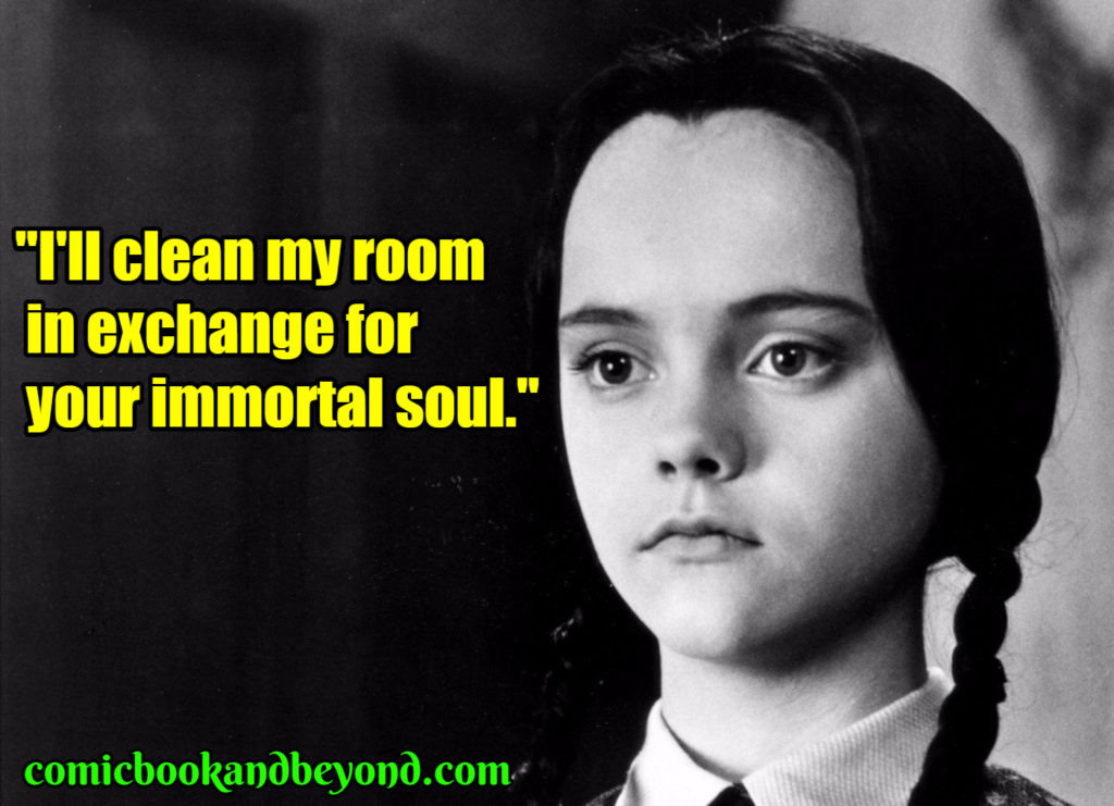 Wednesday Addams popular quotes