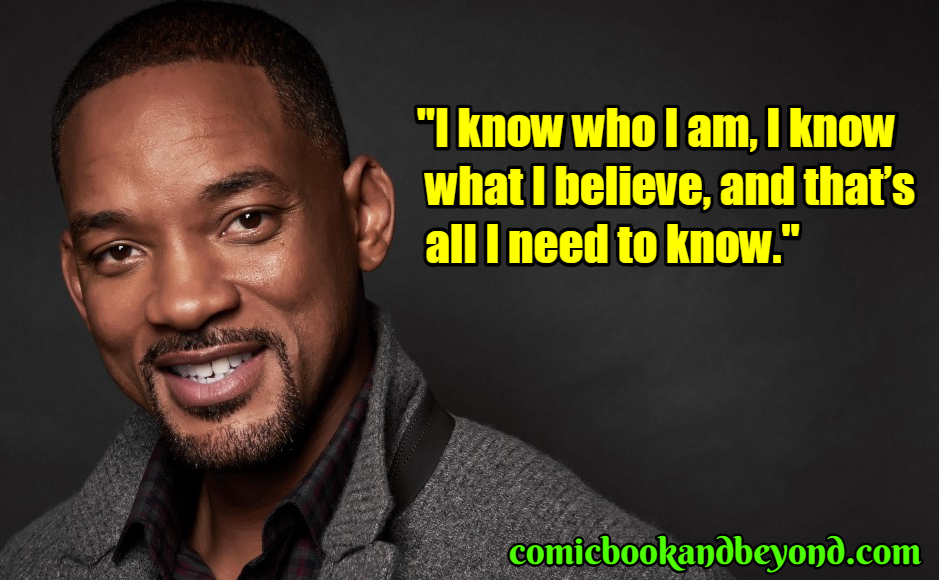 Will Smith saying