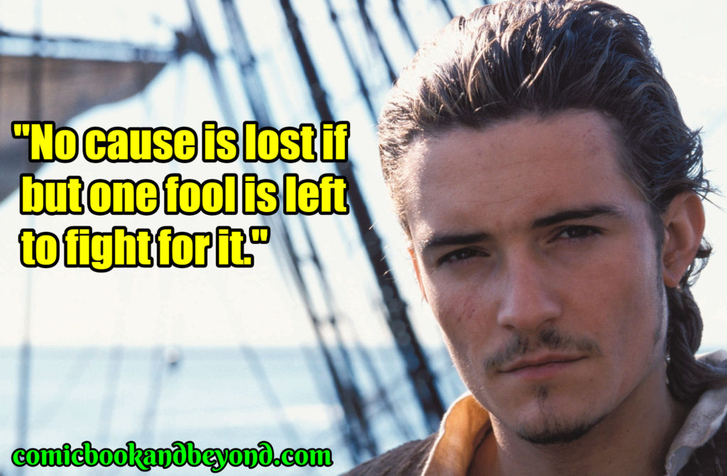 Will Turner popular quotes