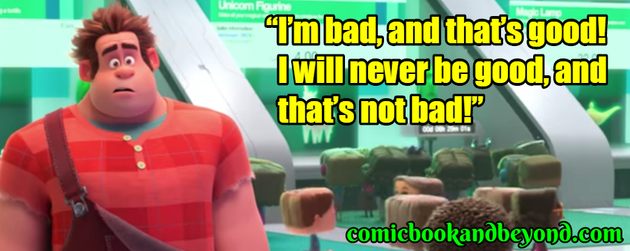 Wreck-It Ralph best quotes
