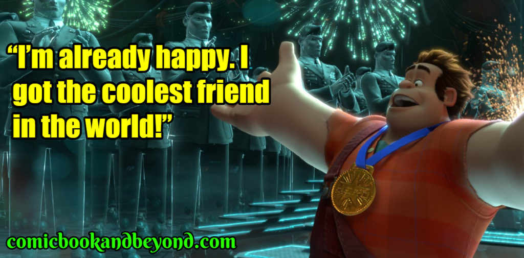 Wreck-It Ralph popular quotes