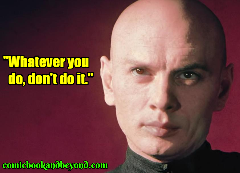 Yul Brynner saying