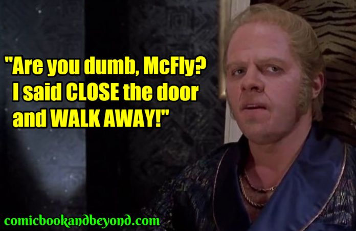 Biff Tannen saying