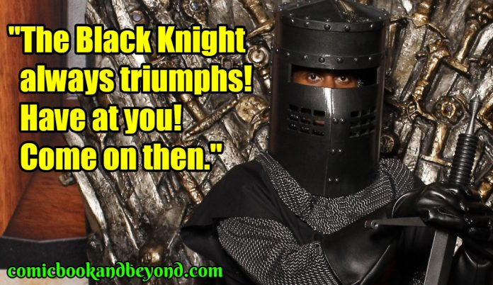 Black Knight famous quotes