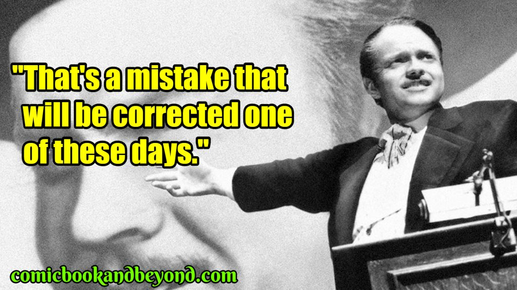 Charles Foster Kane popular quotes