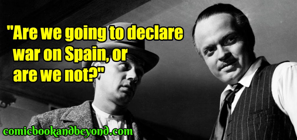 Charles Foster Kane saying