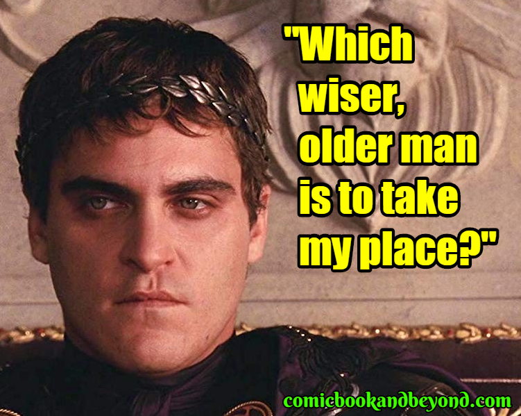 Commodus quotes