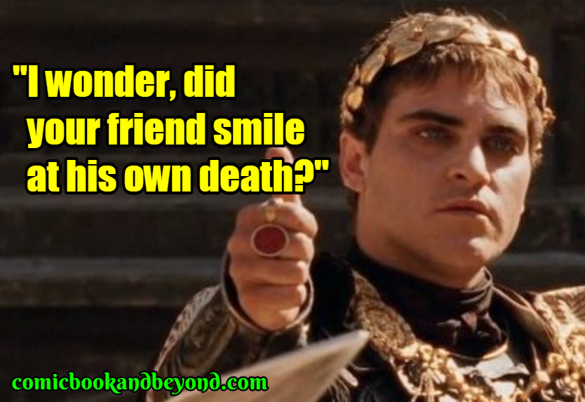 Commodus saying