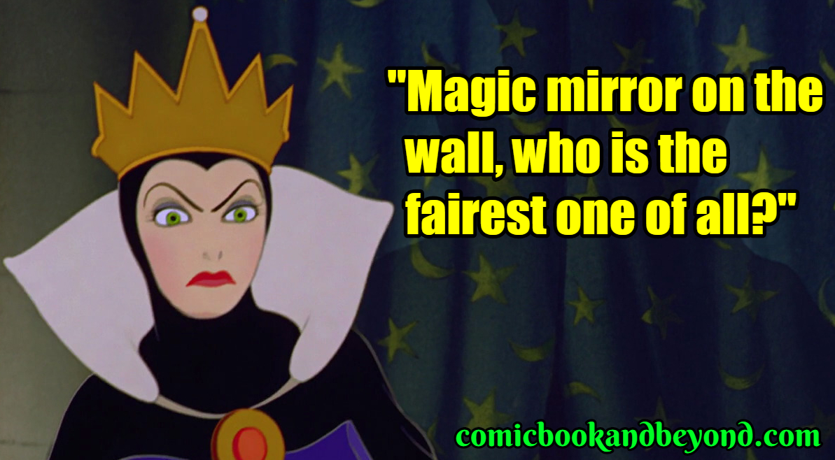 40+ Evil Queen Quotes From Snow White and the Seven Dwarfs ...