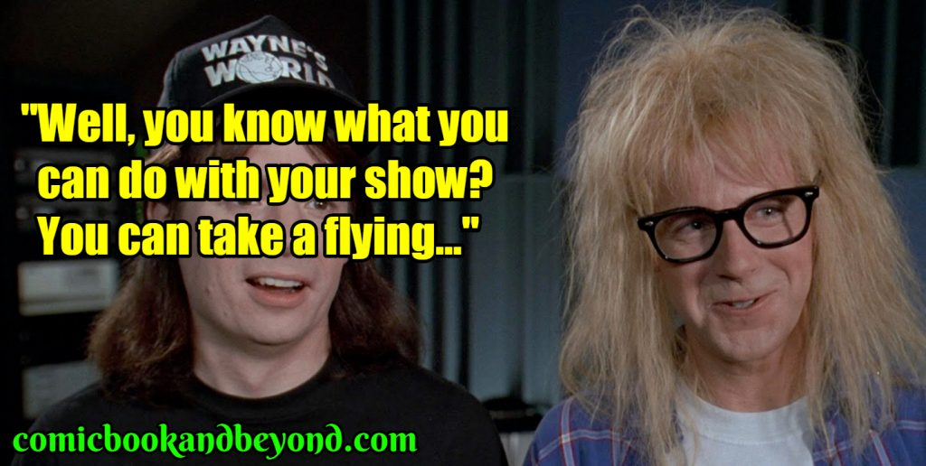 Garth Algar saying