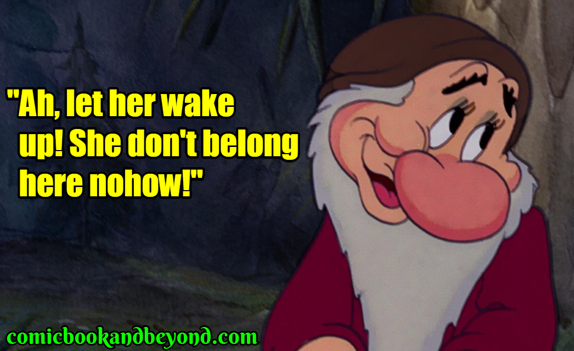 30+ Grumpy Quotes From Snow White and the Seven Dwarfs That ...