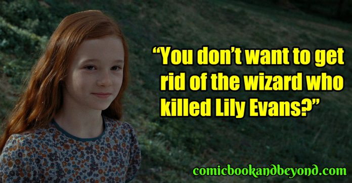Lily Evans Potter best quotes