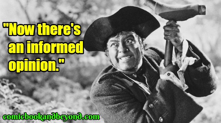 Long John Silver best quotes