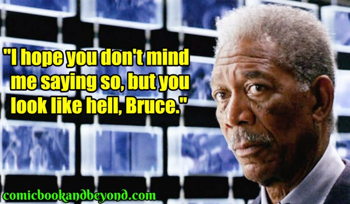 Lucius Fox best quotes