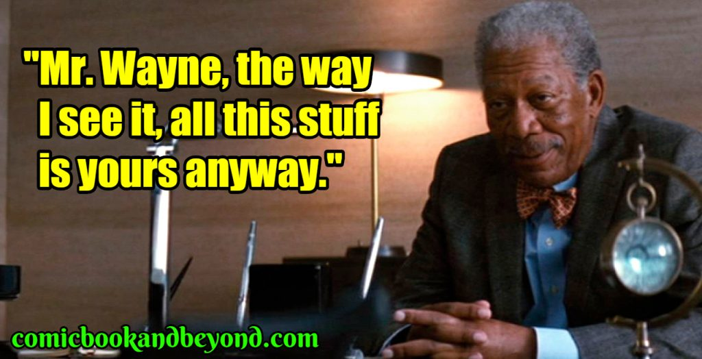 Lucius Fox popular quotes