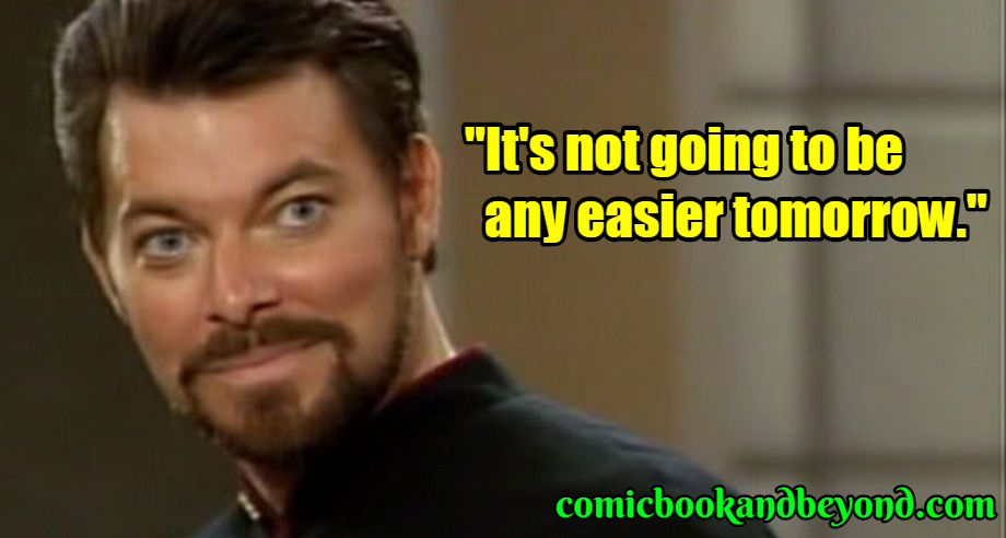 William Riker famous quotes