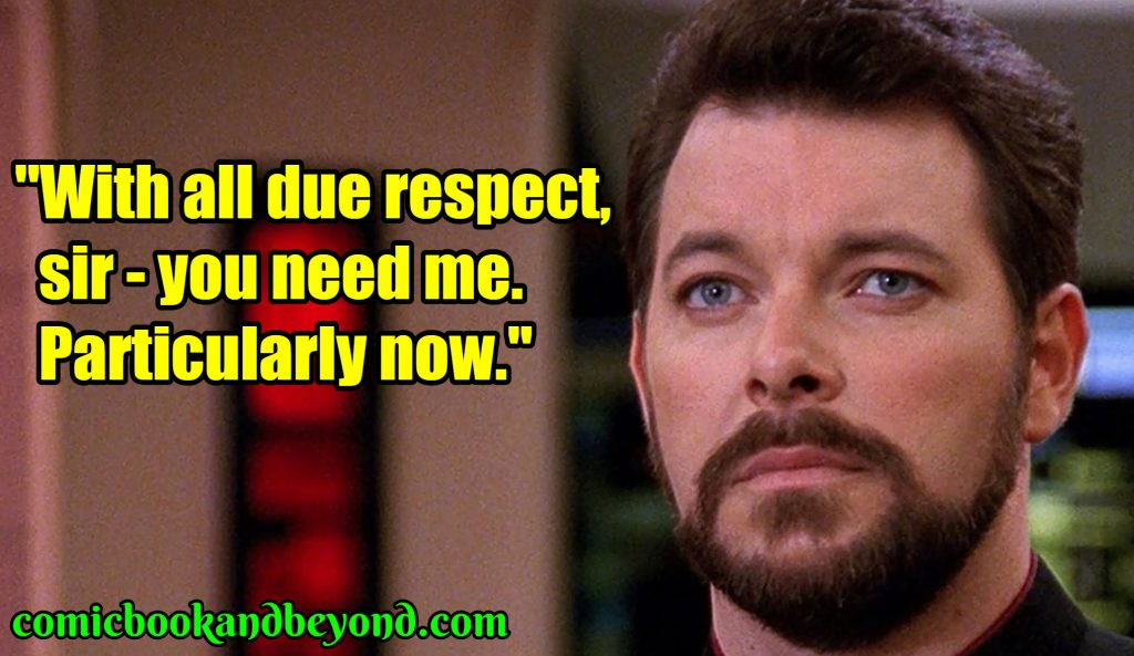 William Riker quotes