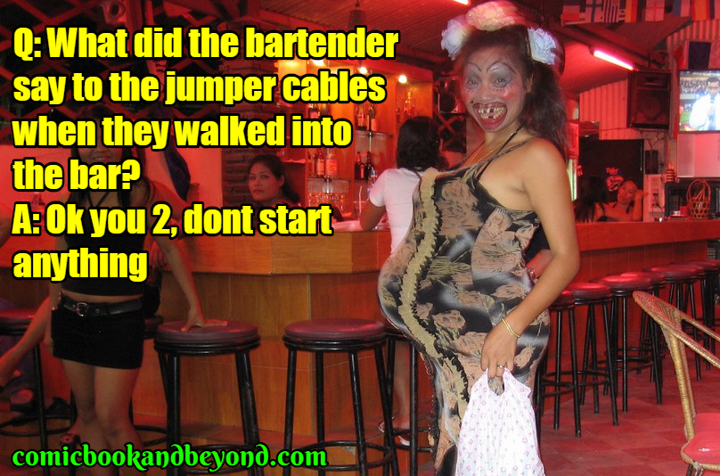 funny bar jokes