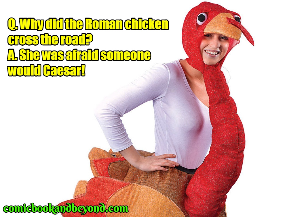 famous why did the chicken cross the road jokes