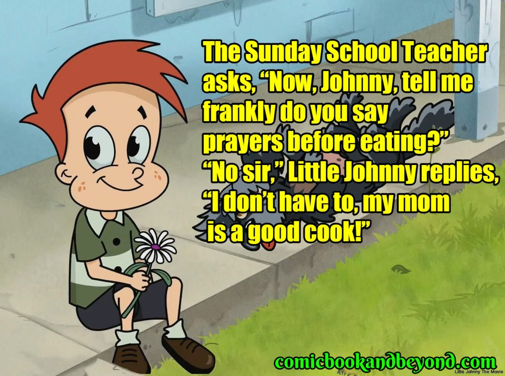 funny little johnny jokes dirty
