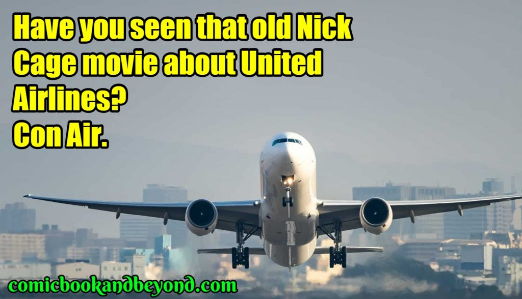 famous united airlines jokes