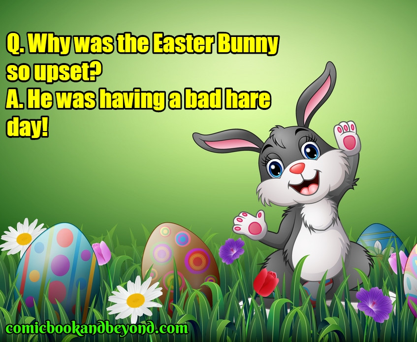 50+ Cool Easter Jokes For Kids and Children - Comic Books ...