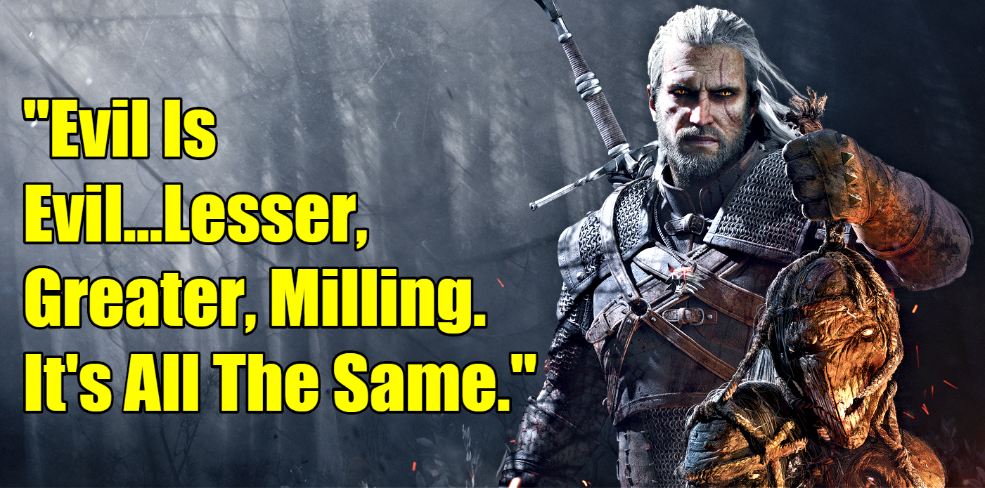 Witcher Sayings